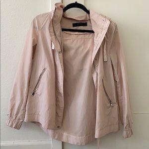 Blush Pink Zara light weather coat